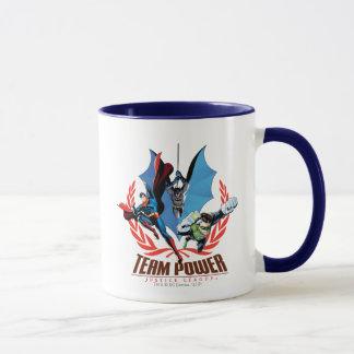 Mug Puissance d'équipe de ligue de justice