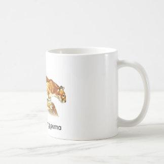 Mug puma de partie-pooping