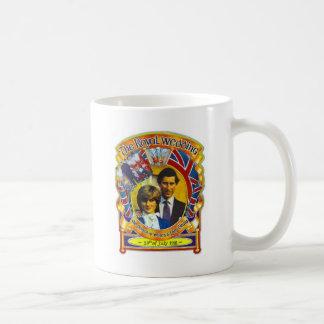 Mug Punk vintage 80' Charles et Di les épousant sroyal