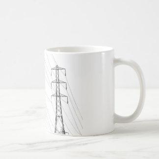 Mug Pylônes de l'électricité