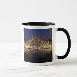 Mug Pyramide de Louvre par l'architecte I.M. Pei à