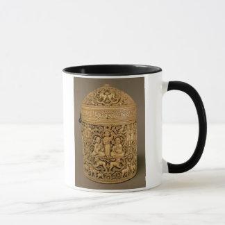 Mug Pyx avec le soulagement dépeignant les plaisirs de
