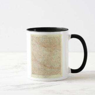 Mug Quadrilatère de Mt Pinos montrant la crevasse de