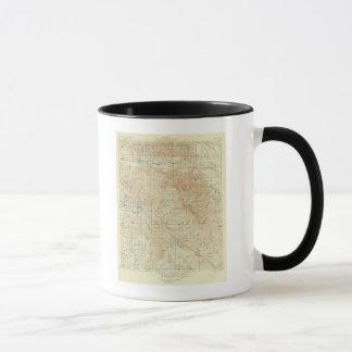 Mug Quadrilatère de San Jacinto montrant la crevasse
