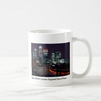 Mug Quai jaune canari Londres Angleterre