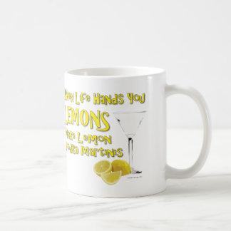 Mug Quand la vie vous donne les citrons font la vodka