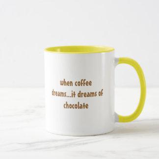 Mug quand le café rêve… il rêve du chocolat