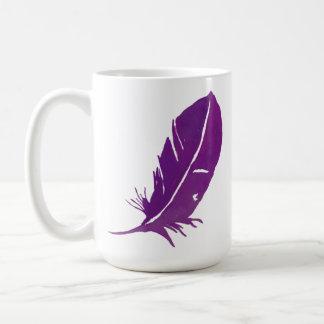 Mug Quand les plumes apparaissent des anges sont près
