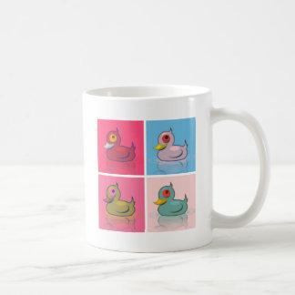 Mug Quatre canards colorés