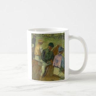 Mug Quatre jockeys