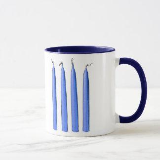 Mug Quatre poignées de bougies/fourchette