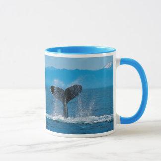 Mug Queue de baleine de bosse, contre la pêche à la