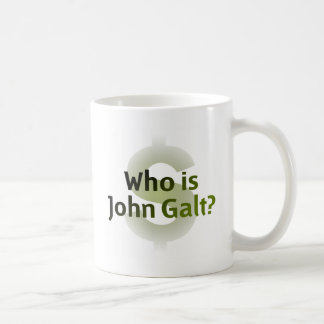 Mug Qui est John Galt ? Symbole d'argent