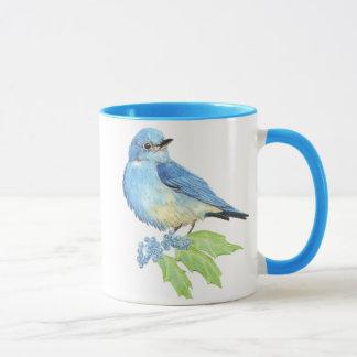 Mug Raisin d'Orégon d'oiseau bleu de montagne