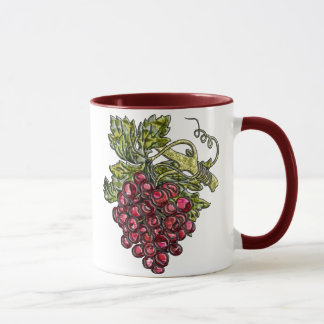 Mug Raisins rouges