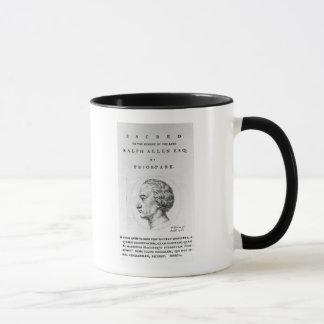 Mug Ralph Allen, 1764