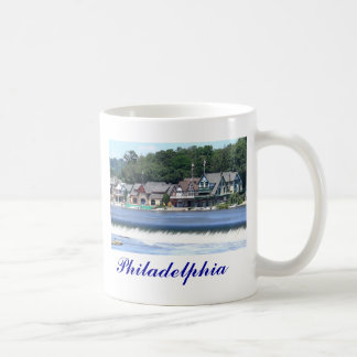 Mug Rangée 2 de Boathouse - Philadelphie