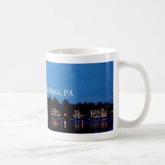 Mug Rangée de péniche, Phila, PA
