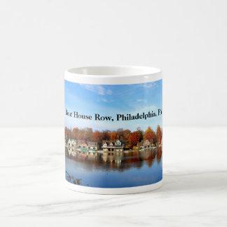 Mug Rangée de péniche, Philadelphie, PA