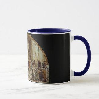 "Mug Raphael ""l'école d'Athènes"" (circa 1511)"