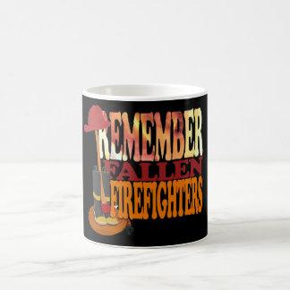 Mug RAPPELEZ-VOUS les sapeurs-pompiers tombés