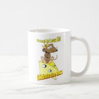 Mug Rat de Brown foncé de logo de Club© d'amants de