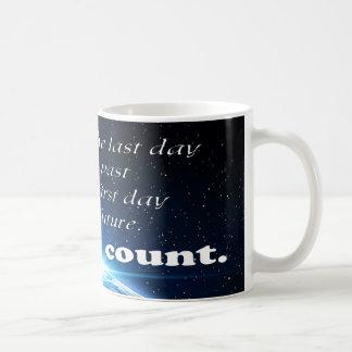 Mug Réalisez aujourd'hui le comptage