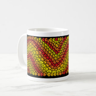 Mug red snake