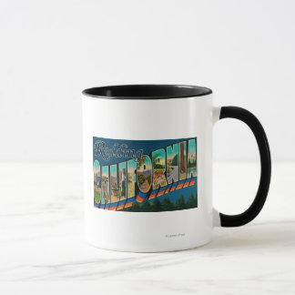 Mug Redding, la Californie - grandes scènes de lettre