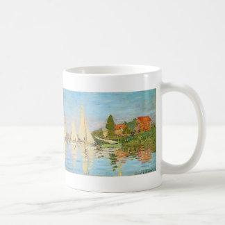 Mug Régate à Argenteuil par Claude Monet