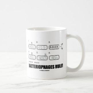 Mug Règle de bactériophages ! (ADN de virus de