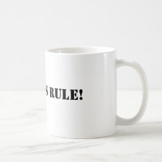 Mug Règle de Geordies