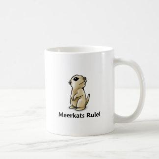 Mug Règle de Meerkats !