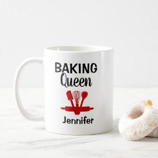 Mug Reine de cuisson personnalisée drôle