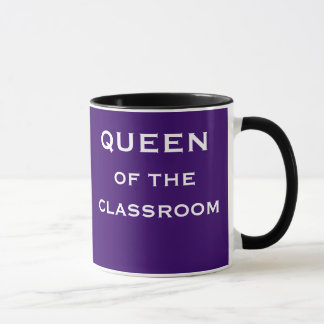 Mug Reine de titre femelle spécial de professeur de