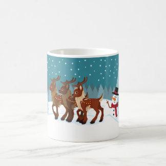 Mug Renne dans la neige