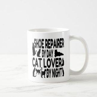 Mug Réparateur de chaussure d'amoureux des chats