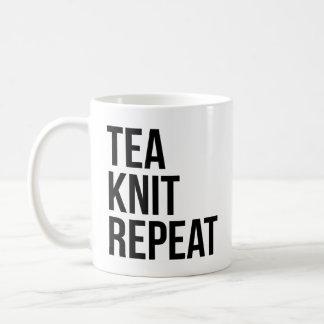 Mug Répétition de Knit de thé