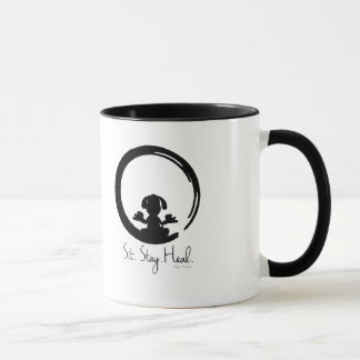 Mug Reposez-vous. Séjour. Guérissez. Poursuivez la