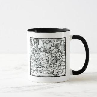 Mug Représentation de la peste, 1572