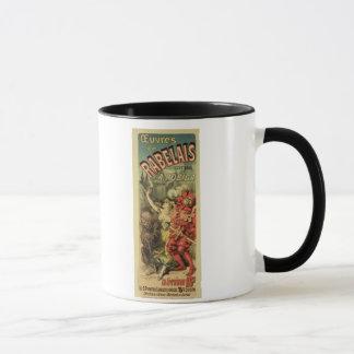 Mug Reproduction d'une publicité par affichage 'les