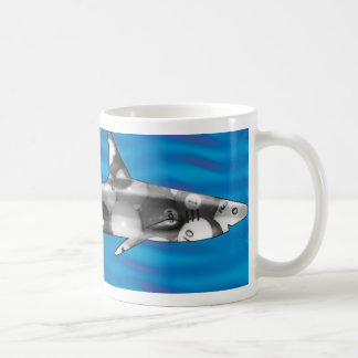 Mug Requin de piscine