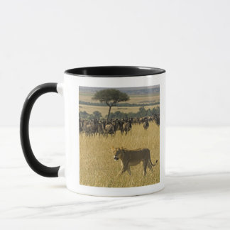 Mug Réservation nationale de Mara de masai, Kenya,