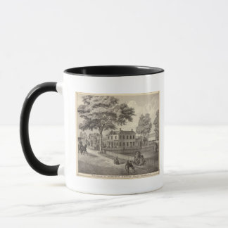 Mug Résidence d'Osborne Curtis, village de Squan, NJ