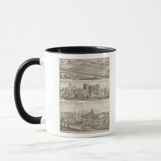 Mug Résidences, fermes et église