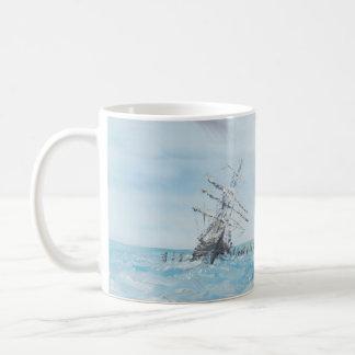 Mug Résistance emprisonnée par la glace antarctique.