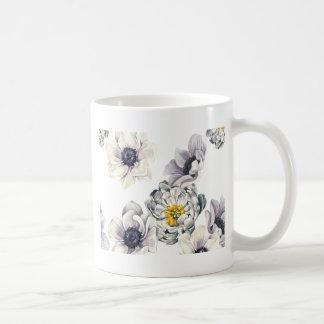 Mug Ressort frais de fleur d'anémone florale de