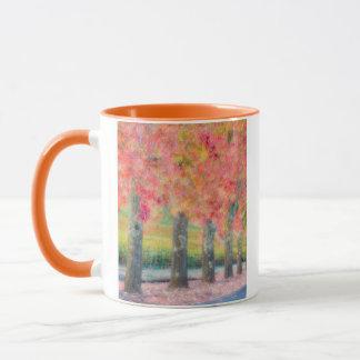 Mug Résumé des arbres de Napa Valley