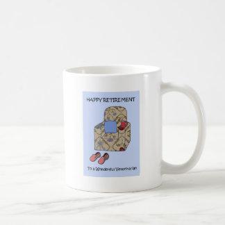 Mug Retraite heureuse vétérinaire