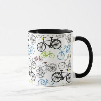 Mug Rétro motif de vélo de bicyclette